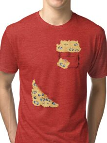Pocketed Monsters - Static Fuzz Tri-blend T-Shirt