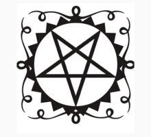 Gloria Inverted Pentagram  One Piece - Long Sleeve