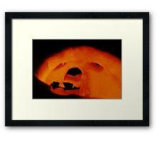 Happy Halloween 2: inside the face Framed Print