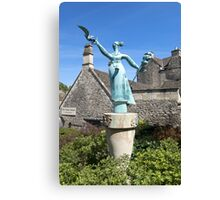 'Millie' Bradford on Avon, Wiltshire, UK Canvas Print