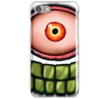 Face of death iPhone Case/Skin