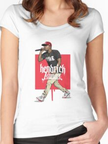 kendrick lamar Women's Fitted Scoop T-Shirt