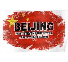 China vintage flag Poster