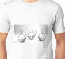 """""""schwarz/weisse Wirbel"""" Unisex T-Shirt"""