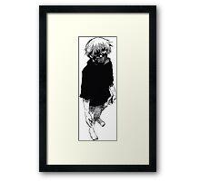 Ken Kaneki Framed Print
