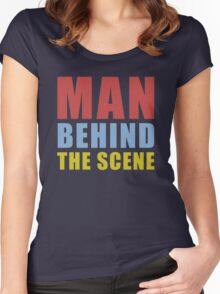 The Scene Women's Fitted Scoop T-Shirt