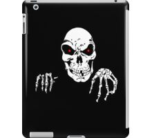 SKULL, Halloween, Hands, Horror, Death, Halloween, 31 October, Hallowe'en, All Saints' Eve, Allhallowtide, Trick, Treat iPad Case/Skin