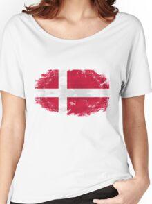 Denmark vintage flag Women's Relaxed Fit T-Shirt