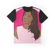 Iris West - Comic Style Graphic T-Shirt