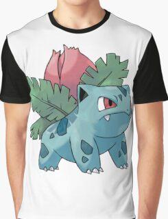 Pokemon - Ivysaur Graphic T-Shirt