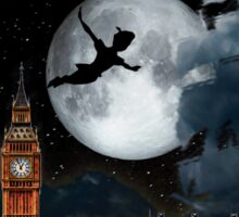 Sailing in the Night - Peter Pan London Scene Sticker