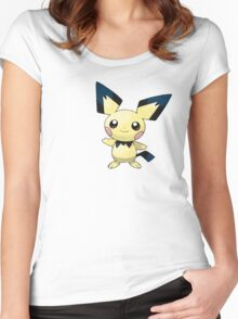Pokemon - Pichu Women's Fitted Scoop T-Shirt
