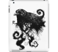 weather the crows iPad Case/Skin