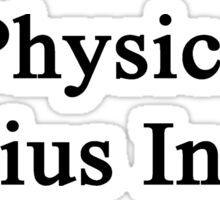 Physics Genius Inside Sticker