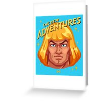 The New Adventures – He-Man Greeting Card