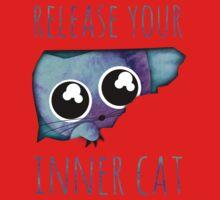 inner cat /Agat/ One Piece - Short Sleeve