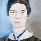 EMILY DICKINSON - oil portrait by lautir