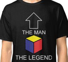 The Man The Legend Rubik's Cube Classic T-Shirt