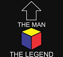 The Man The Legend Rubik's Cube Classic T-Shirt