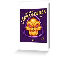 The New Adventures – Skeletor Greeting Card