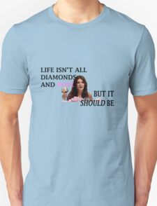 Life Is Diamonds and Rosé T-Shirt