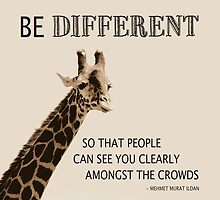 Be Different by Leah Gunther
