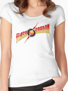 Flash Gordon Women's Fitted Scoop T-Shirt