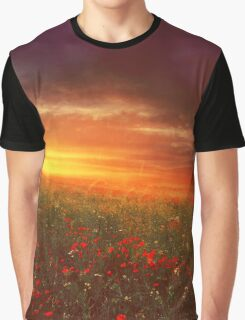 sunset landscape Graphic T-Shirt