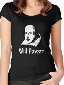 Will Power Women's Fitted Scoop T-Shirt