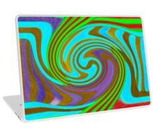 Psychedelic Swirl  Laptop Skin