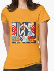 Inspired by Matisse Womens Fitted T-Shirt