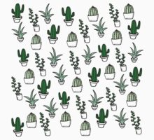 Succulents - Colored Kids Tee