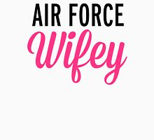 Air Force Wifey Quote Womens Fitted T-Shirt