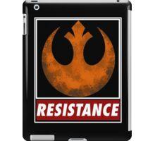 star wars resistance symbol iPad Case/Skin