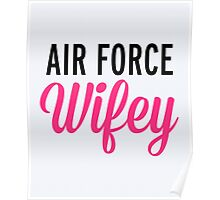 Air Force Wifey Quote Poster