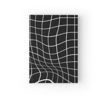 Grid 3D - Black Hardcover Journal