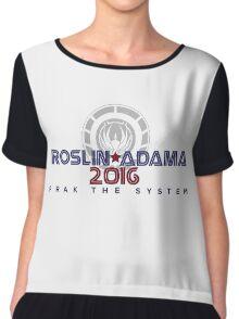 ROSLIN - ADAMA 2016 Chiffon Top