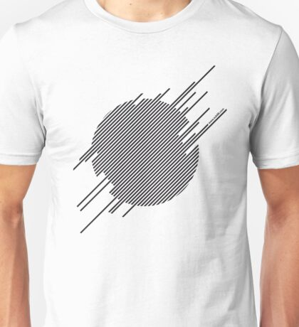 ABshapes in a disc  Unisex T-Shirt