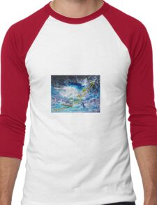 Walking on the Water Men's Baseball ¾ T-Shirt