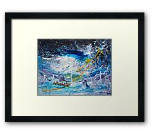 Walking on the Water Framed Print