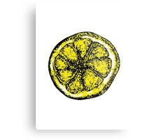 The Stone Roses lemon (Big) Metal Print