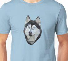 Blue Eyed Husky Unisex T-Shirt