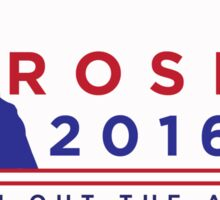 "ROSLIN 2016 - ""PUT HIM OUT THE AIRLOCK!"" STICKER Sticker"