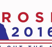 "ROSLIN 2016 - ""PUT HIM OUT THE AIRLOCK!"" STICKER Sticker"