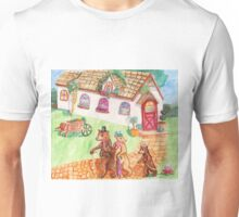 The Three Bears Go To Town Unisex T-Shirt