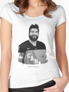 Brent Burns 0002 Women's Fitted Scoop T-Shirt