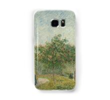 Vincent Van Gogh - Garden with courting couples square Saint-Pierre, Famous Painting. Impressionism. Van Gogh Samsung Galaxy Case/Skin