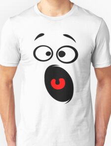 Surprised Funny Smiley Unisex T-Shirt