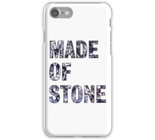 Made Of Stone -The Stone Roses iPhone Case/Skin