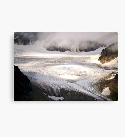 cold landscape Canvas Print